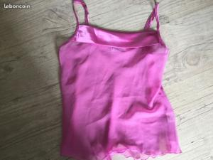 nuisette /lingerie transparente rose