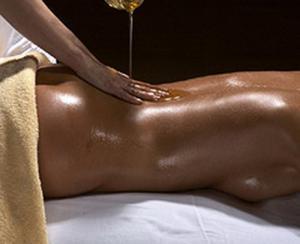 Massage + cunni = paradis