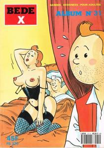 BEDE X Tintin Album n°31 de Jan BUCQUOY